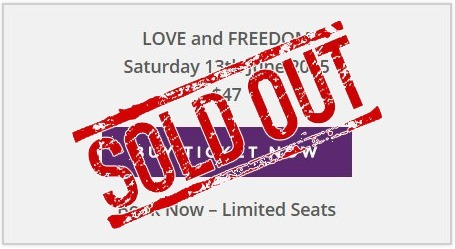 love and freedom sold out